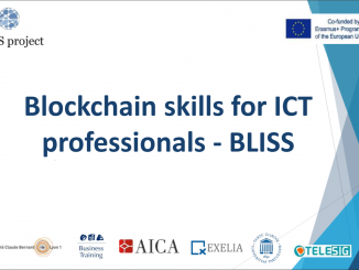 BLISS - Blockchain Skills for ICT Professionals